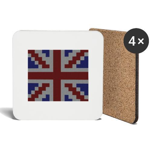 Union Jack flag - Coasters (set of 4)