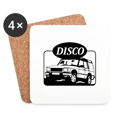 Landie Disco - Autonaut.com - Coasters (set of 4)