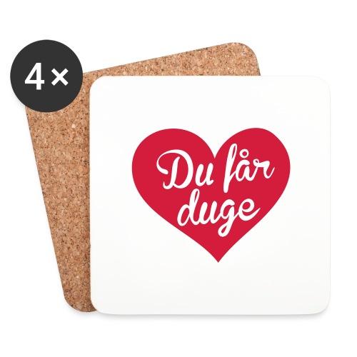 Ekte kjærlighet - Det norske plagg - Brikker (sett med 4)