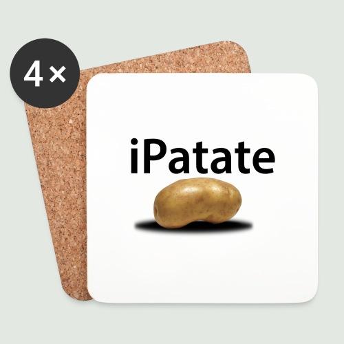 iPatate - Dessous de verre (lot de 4)