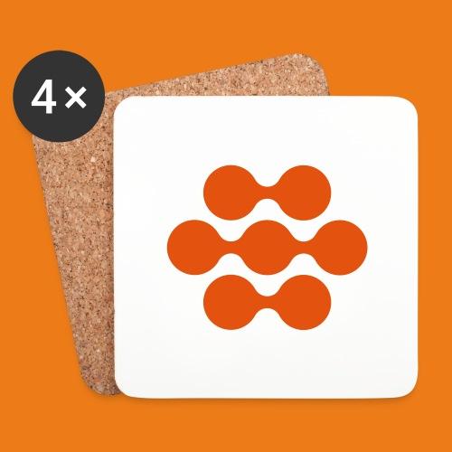 seed madagascar logo squa - Coasters (set of 4)