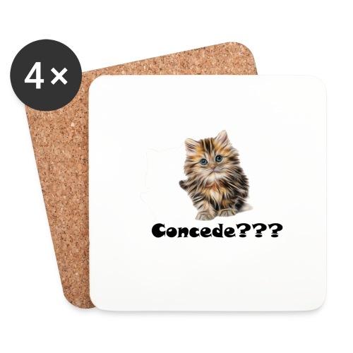 Concede kitty - Brikker (sett med 4)