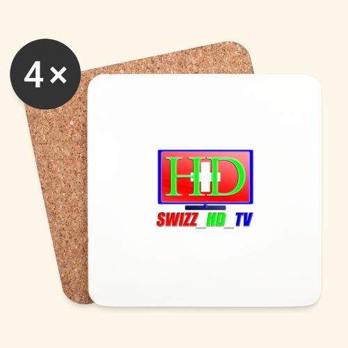 SWIZZ HD TV - Untersetzer (4er-Set)