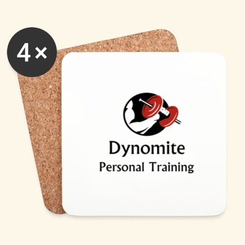 Dynomite Personal Training - Coasters (set of 4)