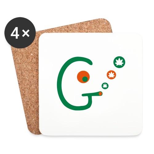 Ganjahead - Coasters (set of 4)