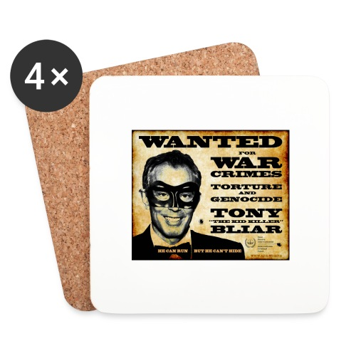 Wanted - Coasters (set of 4)