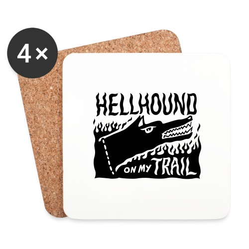 Hellhound on my trail - Coasters (set of 4)