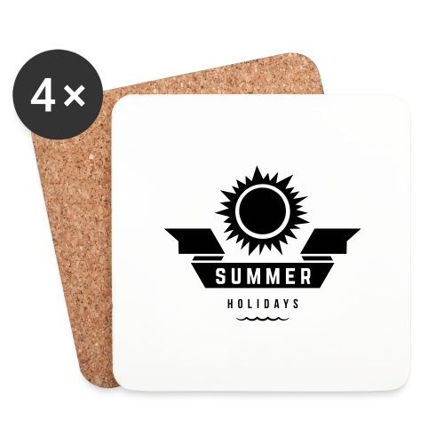 Summer holidays - Lasinalustat (4 kpl:n setti)