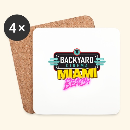 Miami Beach - Coasters (set of 4)