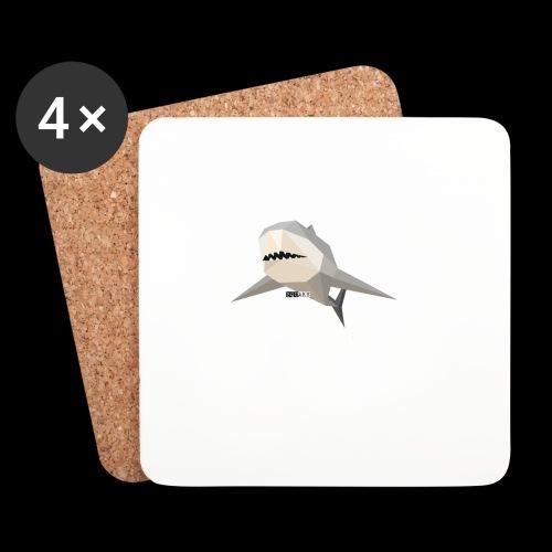 SHARK COLLECTION - Sottobicchieri (set da 4 pezzi)