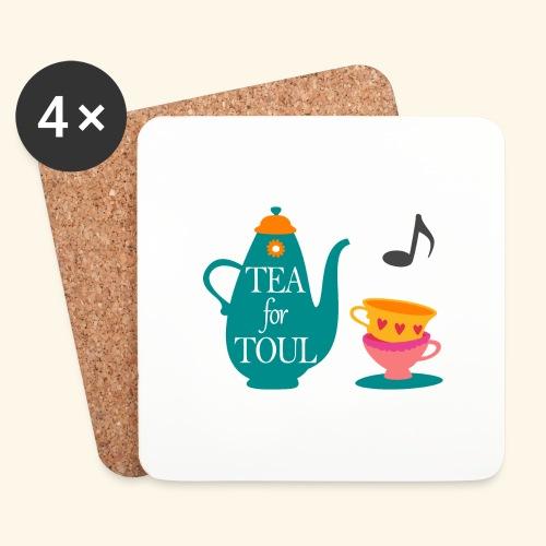 Tea for Toul - Dessous de verre (lot de 4)