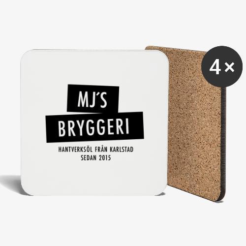 MJs logga - Underlägg (4-pack)