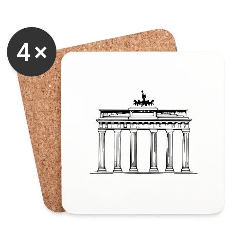 Brandenburger Tor Berlin Victoria Streitwagen - Untersetzer (4er-Set)