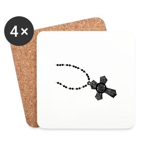 kruis 2 png - Onderzetters (4 stuks)