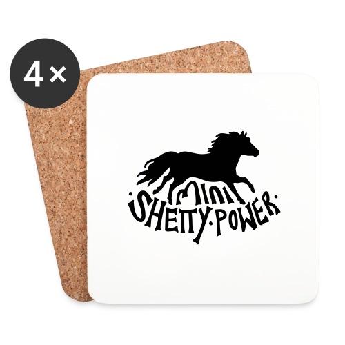 Shetty Power - Untersetzer (4er-Set)