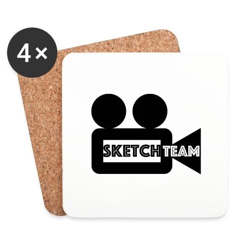 SketchTeam Logga T-shirt - Underlägg (4-pack)