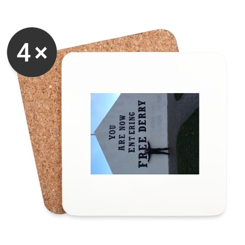 free derry - Coasters (set of 4)