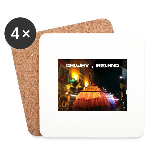 GALWAY IRELAND MACNAS - Coasters (set of 4)