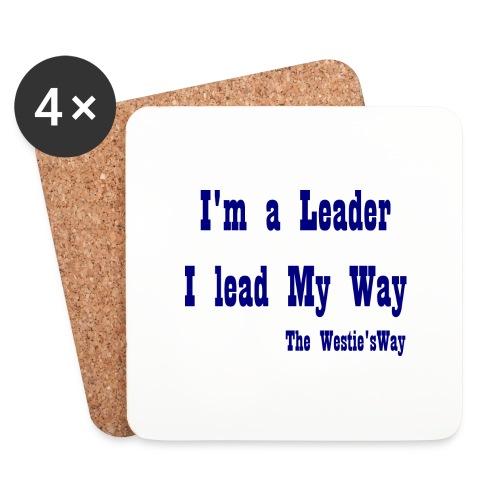 I lead My Way Blue - Podstawki (4 sztuki w zestawie)