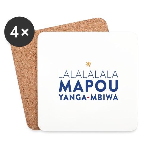 Mapou YANGA-MBIWA - Dessous de verre (lot de 4)