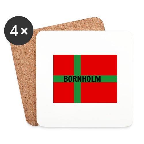 BORNHOLM - Glasbrikker (sæt med 4 stk.)