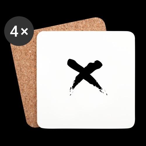x - Sottobicchieri (set da 4 pezzi)