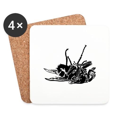 mouche morte - Dessous de verre (lot de 4)