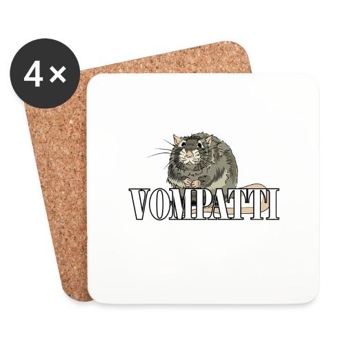 Vompatti - Lasinalustat (4 kpl:n setti)