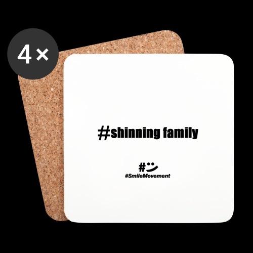 shinning family - Dessous de verre (lot de 4)
