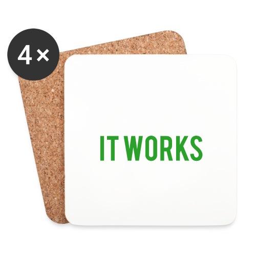 It works on my machine Funny Developer Design - Coasters (set of 4)