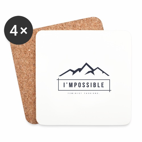Impossible - Coasters (set of 4)