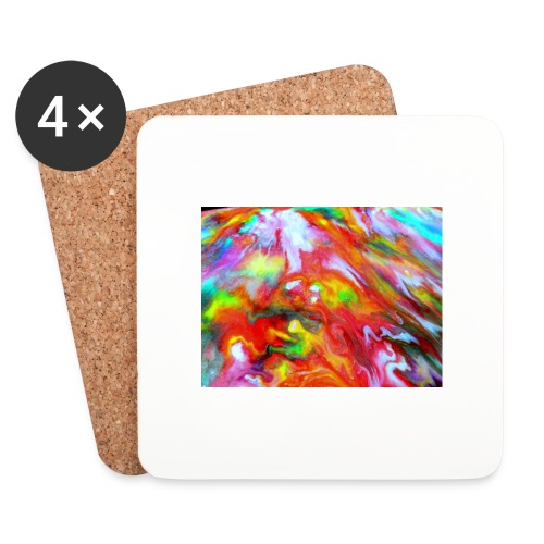 abstract 1 - Coasters (set of 4)