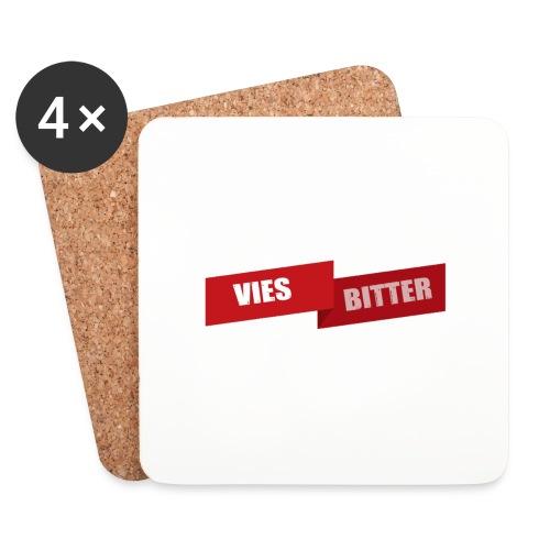 Vies Bitter - Onderzetters (4 stuks)