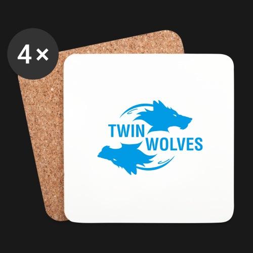 Twin Wolves Studio - Sottobicchieri (set da 4 pezzi)