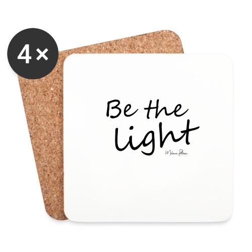 Be the light - Dessous de verre (lot de 4)