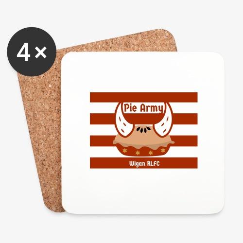 Pie Army - Coasters (set of 4)