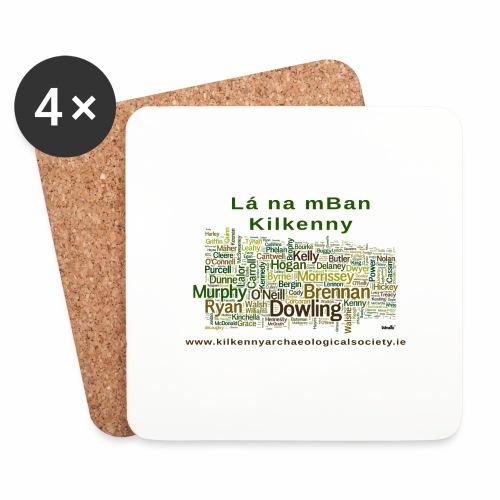 Lá na mban Kilkenny Wordle - Coasters (set of 4)