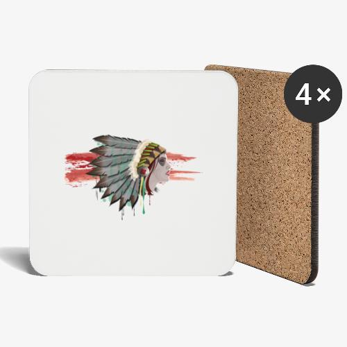 Native american - Dessous de verre (lot de 4)