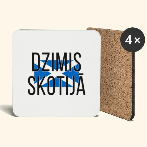 Born in Scotland (Latvian) male only - Coasters (set of 4)