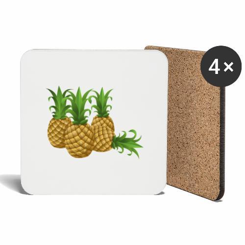 Ananas - Untersetzer (4er-Set)
