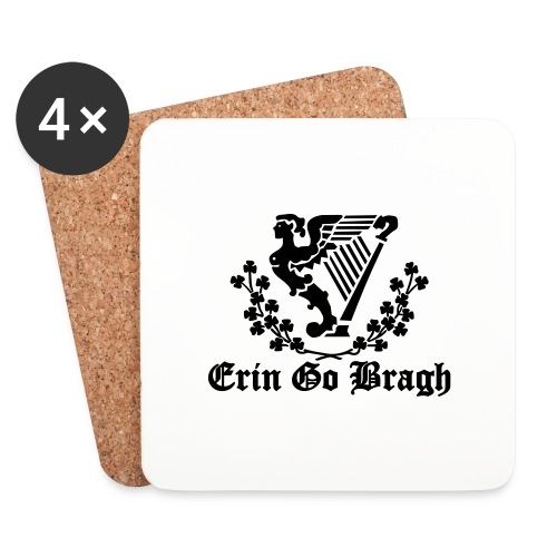 ERIN GO BRAGH - Coasters (set of 4)