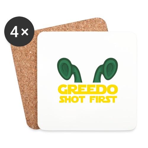 GreedoShotFirst 02 - Onderzetters (4 stuks)