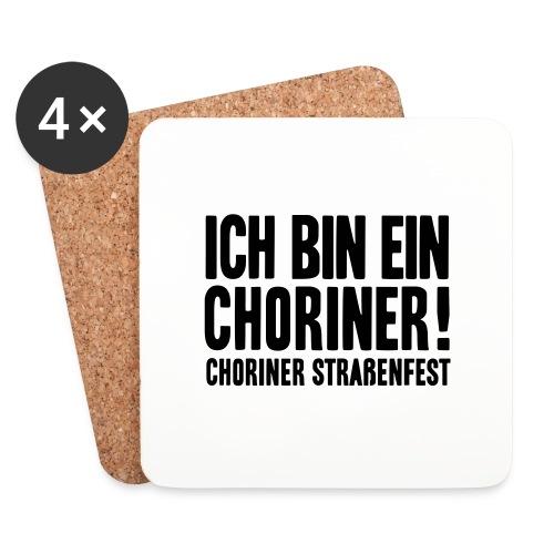 Ich bin ein Choriner! - Untersetzer (4er-Set)