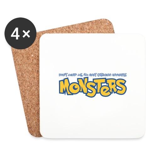Monsters - Coasters (set of 4)
