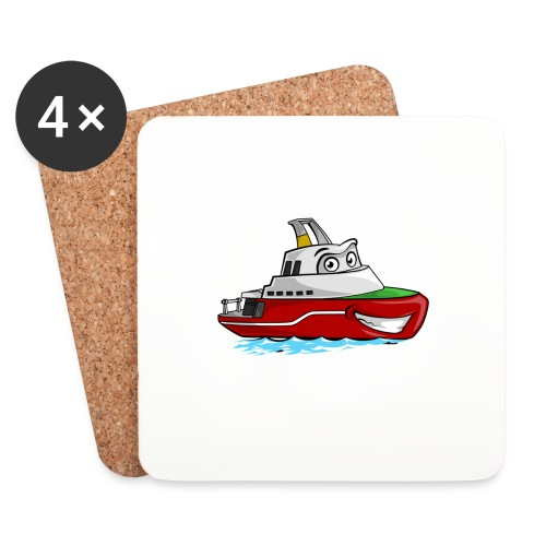 Boaty McBoatface - Coasters (set of 4)