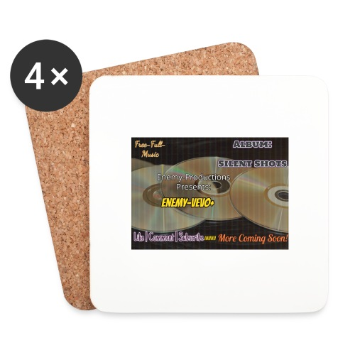 Enemy_Vevo_Picture - Coasters (set of 4)