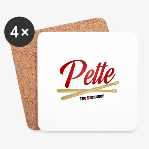 Pette the Drummer - Coasters (set of 4)