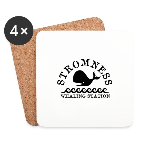 Sromness Whaling Station - Coasters (set of 4)