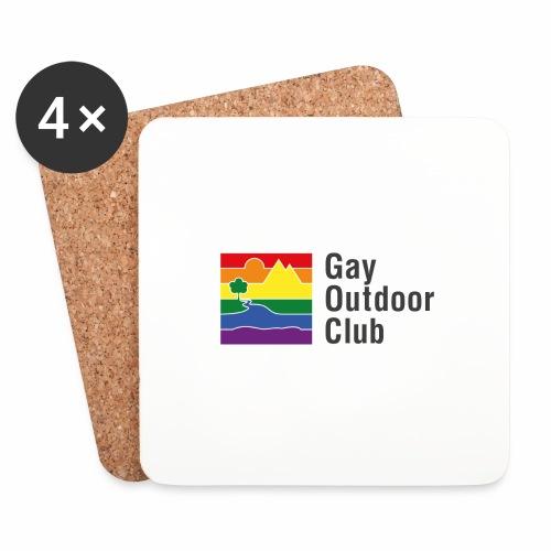 GOC Logo Black Text - Coasters (set of 4)