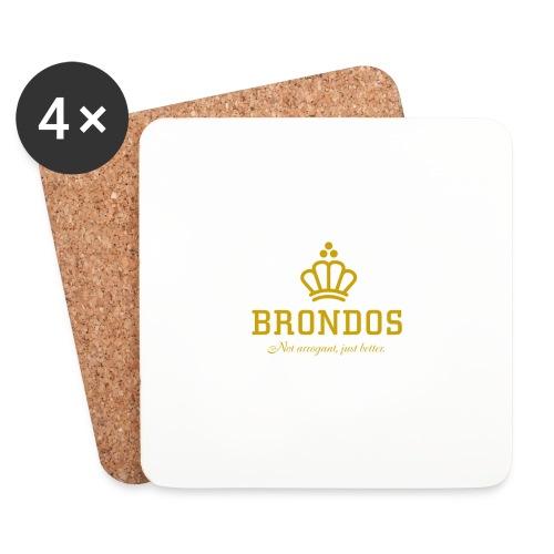 Brondos - Lasinalustat (4 kpl:n setti)